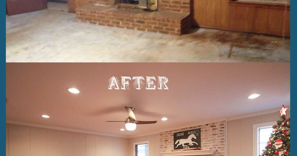 Workout Room With Whitewash Brick Wall