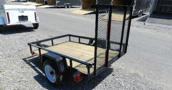 Red Tag Sale Carry On 4 X 6 Utility Trailer Or Landscape