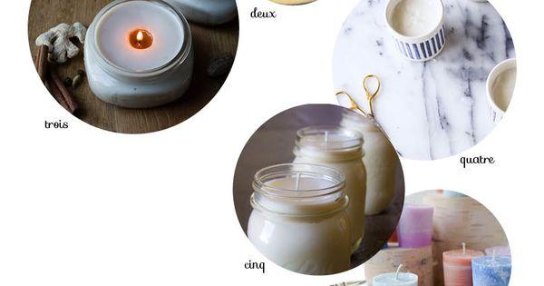 fabriquer une bougie parfum e fait maison comment et bougies parfum es. Black Bedroom Furniture Sets. Home Design Ideas