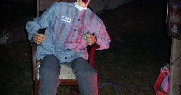 Electrocution Chamber My Halloween Yard Haunt