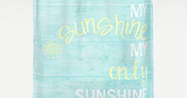 You Are My Sunshine Shower Curtain By Monika Strigel Customize