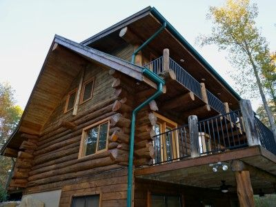 Drift away log cabin brown county indiana cabin getaways for Ponte coperto cabina brown county