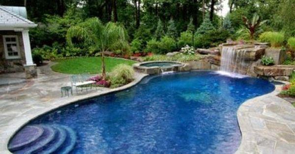 Modelos de piscina para casas rusticas buscar con google for Diseno de piscinas para casas de campo