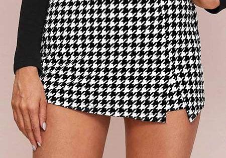 Polainas Mujer Mujer Vino Tinto Falda Tubo Cortocircuitos De La Manera Mujeres De Las Se/ñoras 4xl Botones Negro Pantalones Cortos