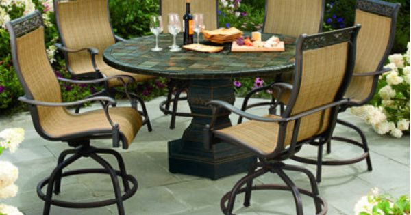 Octagon Patio Set About Living Home Outdoors Pietra
