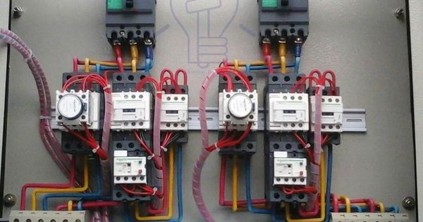 240v Coil Contactor Wiring Diagram