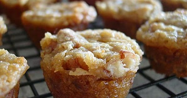 Pecan Pie Cupcakes- This is my recipe that I call pecan pie