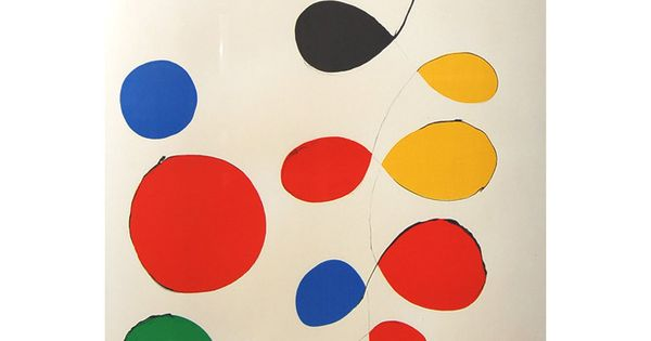 Alexander Calder, Color lithograph, Signed and Numbered 1/115 1stdibs art