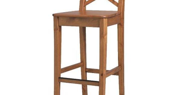Ingolf Bar Stool With Backrest White Bar Stool Stools