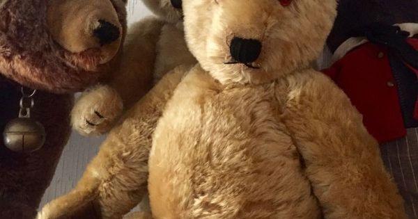 Old Large Chiltern Hugmee Old Teddy Bear Circa 1940