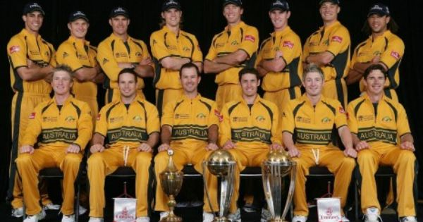 Ricky And Australian Cricket Team Hd Wallpaper Cricket Teams Cricket World Cup