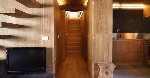 interno fraciscio a campodolcino: architettura scolpita nel legno, Innenarchitektur ideen