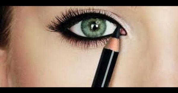 طريقة وضع المكياج أفضل طرق وضع الكحل مكياج لبناني مكياج ناعم المكياج الخليجي Eyeliner Makeup Hair Beauty