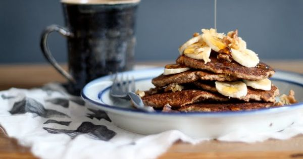 Gluten-free Banana Bread Pancakes Recipe GlutenFree Breakfast