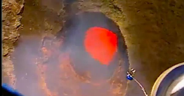 Bungee Jumping Into An Active Volcano In Chile Tourist Tourist