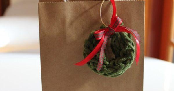 Knitting Nancy Toilet Paper Roll : Toilet paper roll knitting nancy idea wreath ornaments