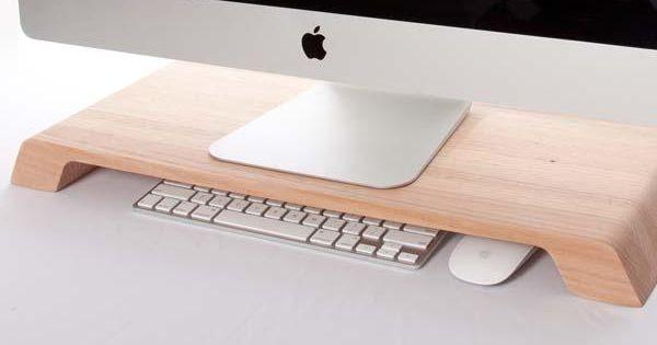 Lifta minimal wooden desk organizer gadgetsin totally - Lifta desk organizer ...