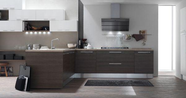 küche modern - Google-Suche | Kitchen | Pinterest | Modern and Search | {Küchenzeile modern 26}