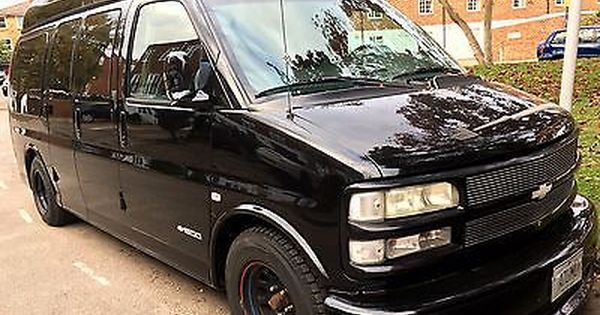 Chevrolet Express 5 7l American Show Car Day Van Surfer Luxury
