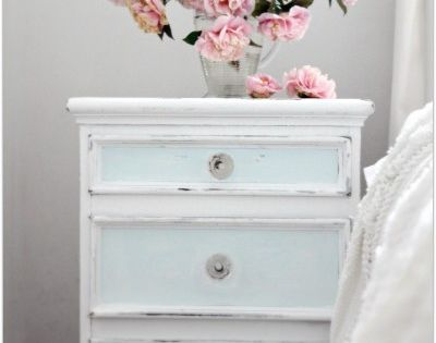 a pretty easy redo of an older night stand - make it