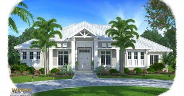 Love The Elevation And The Floor Plan Olde Florida House