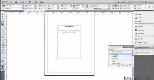 InDesign tutorial: Adding a navigational TOC to an ebook