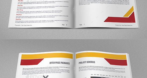 Construction Company Proposal Template Vol4 Proposals, Template - construction work proposal template