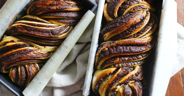 Chocolate Babka French Toast with Marscapone and ...
