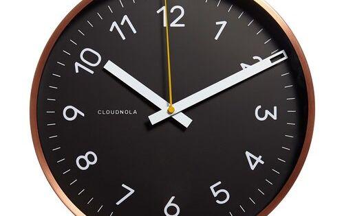 Cloudnola Now 30cm Wall Clock Clock Modern Clock Wall Clock Online