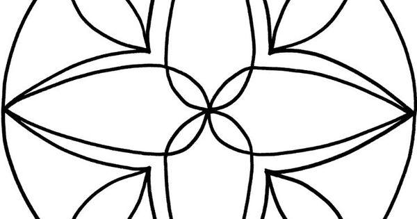 mandalas zum ausdrucken tolle blumen mandala vorlage zum. Black Bedroom Furniture Sets. Home Design Ideas
