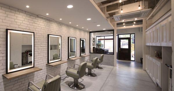 Barl hair salon by pebble okayama japan store design for Menzah 5 salon de the