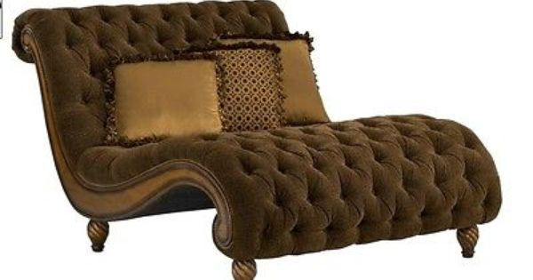 Rachlin classics furniture dinah s chaise a half in for Chaise and a half lounge