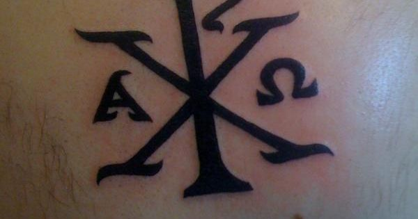 chi rho symbol tattoo its called a chi rho in tattoo by lance cantrell tats pinterest. Black Bedroom Furniture Sets. Home Design Ideas