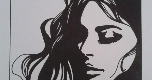 Black Marker Drawing   Art   Pinterest   Marker Drawings Markers And Drawings