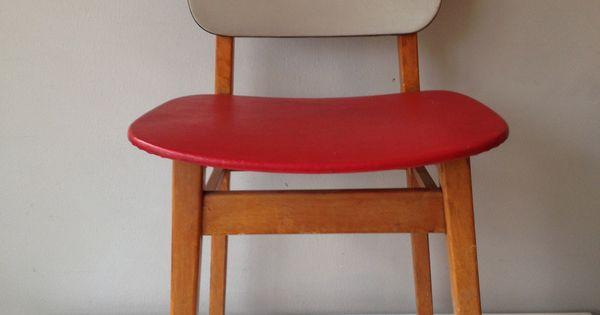 Retro keukenstoel via webshop for Tweedehands meubels webshop