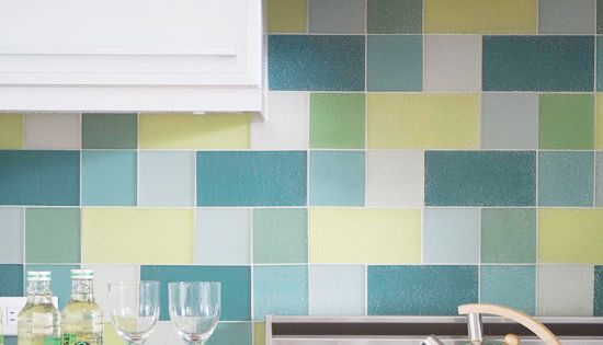 Sandhill Industries Recycled Glass Tiles