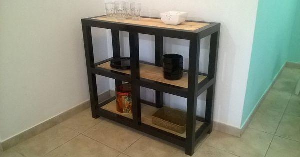 Organizador de cocina o comedor fabricado en ca o - Como hacer estantes de cocina ...