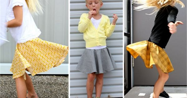 The Circle Skirt Tutorial | Great easy skirt for little girls who