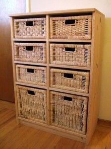 Basket Drawer Unit Diy Custom Make What You Want Using Some Ikea