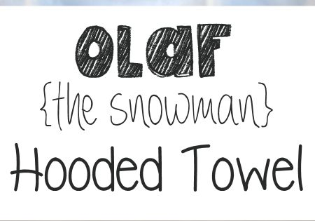 Olaf The Snowman Hooded Towel Frozen Towels And Ashley