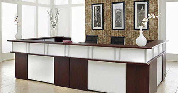 Venetian Mirrors Glass U Reception Desk Reception Desk Glass Reception Desk Design