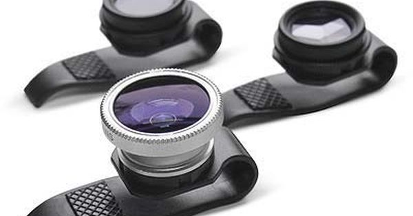 Gizmon Clip-On iPhone lens! Neat.