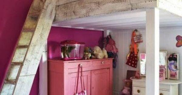 Hochbett im kinderzimmer 100 coole etagenbetten f r for Kinderzimmer olivia