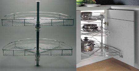 Cocinas tipos de muebles para organizar tu cocina madrid - Mueble esquinero cocina ...