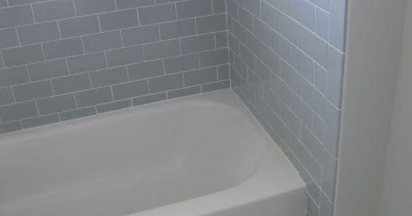 3x6 Desert Gray Subway Tile From Dal Tile But The Flooring