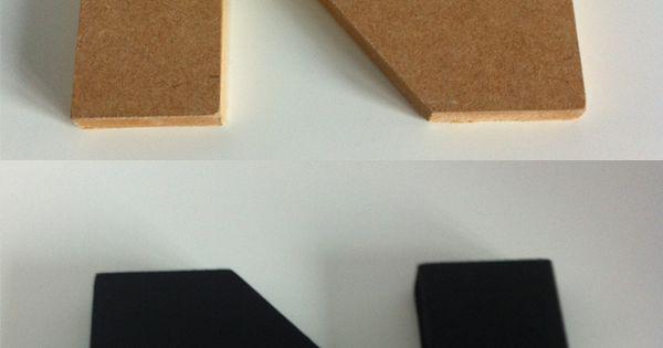 Colorare le lettere di legno realizzate in MDF  Lettere di legno di Idee DI Legno  Pinterest ...