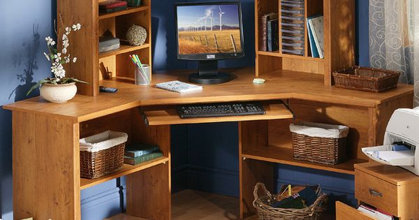 Kids Corner Desk With Hutch Diy Pinterest Corner