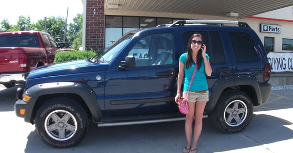 Mari And Samantha Zullig Purchased This 2005 Jeep Liberty And