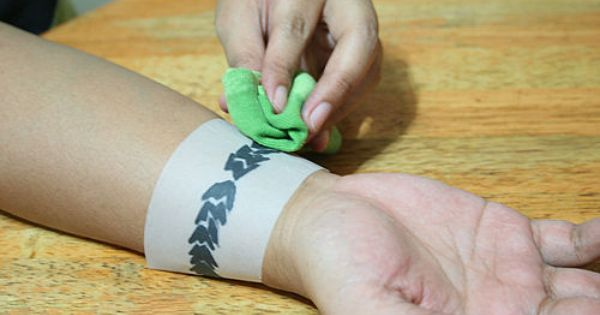 how to create your own temporary tattoo: 8 steps (with pictures). Good
