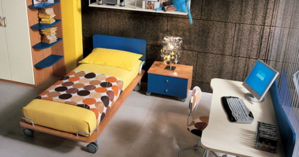Kid Yellow And Beds On Pinterest